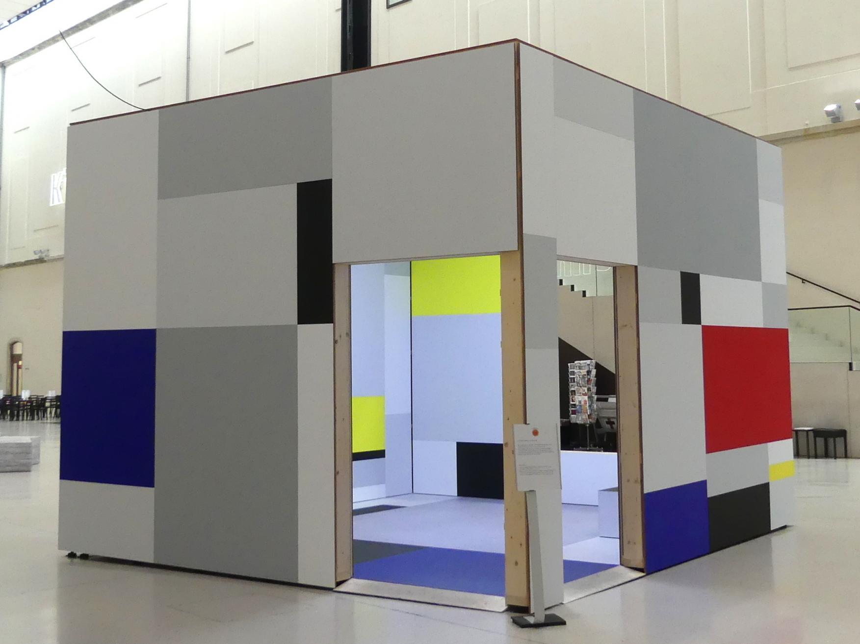 Heimo Zobernig: Piet Mondrian. Eine räumliche Aneignung, 2019