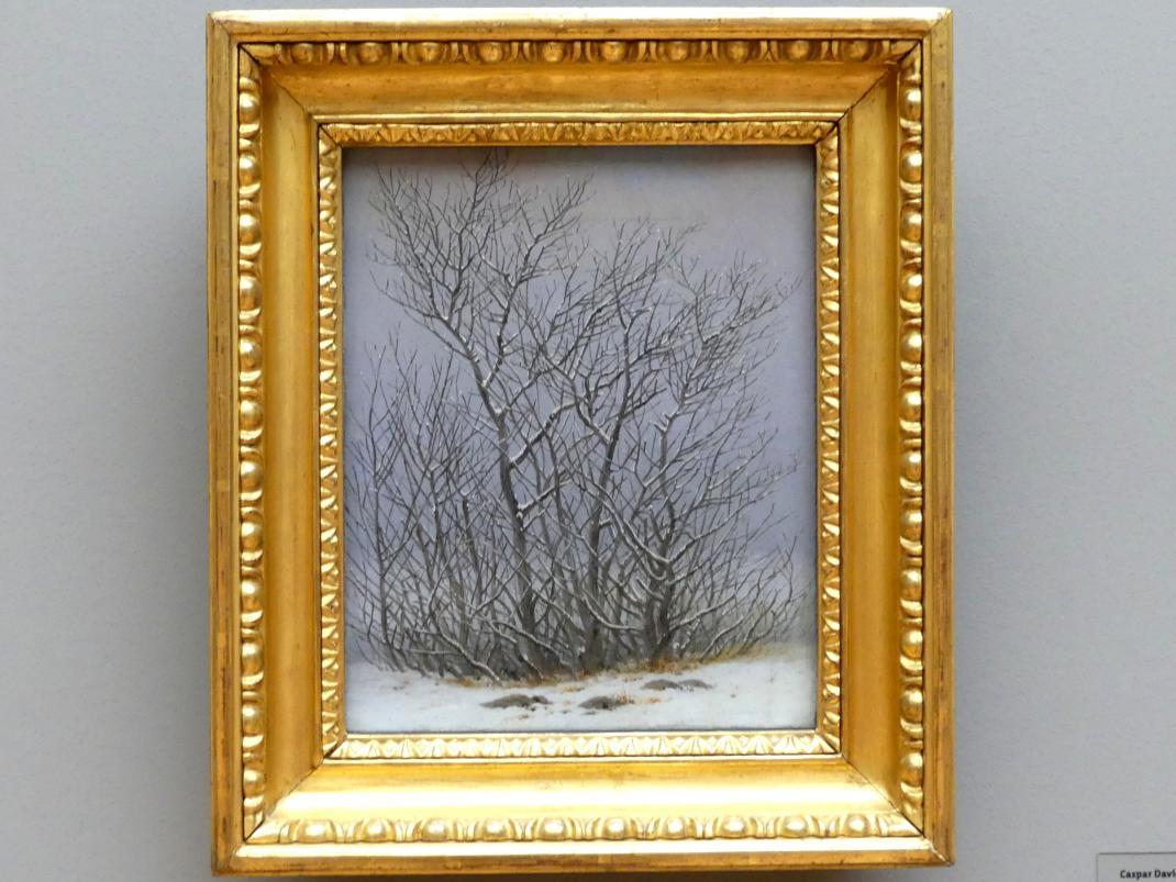 Caspar David Friedrich: Gebüsch im Schnee, 1827 - 1828