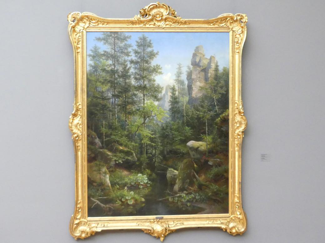 Eduard Leonhardi: Waldeinsamkeit, 1887