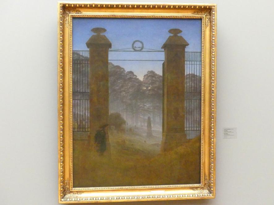 Caspar David Friedrich: Der Friedhof, um 1825