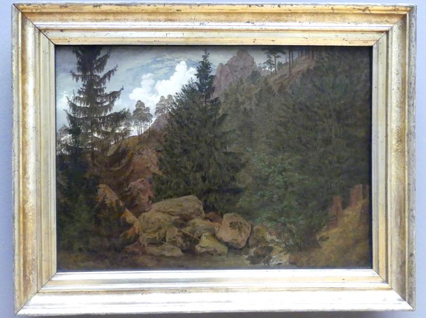 Caspar David Friedrich: Felspartie im Harz, 1811