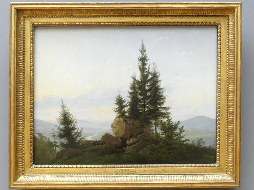 Caspar David Friedrich: Ausblick ins Elbtal, um 1807