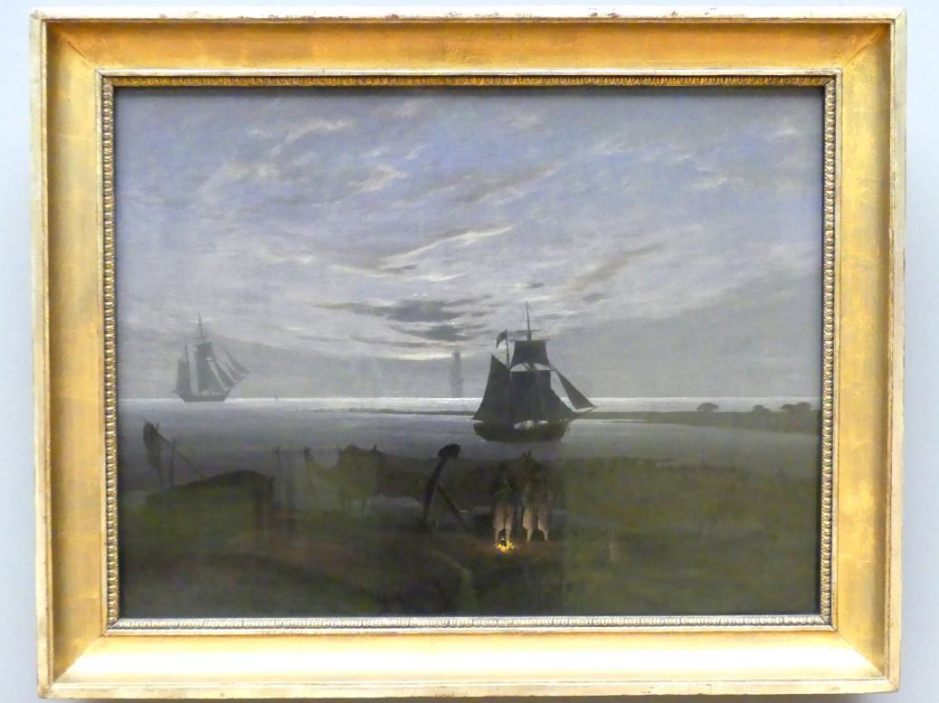 Caspar David Friedrich: Abend am Ostseestrand, 1831