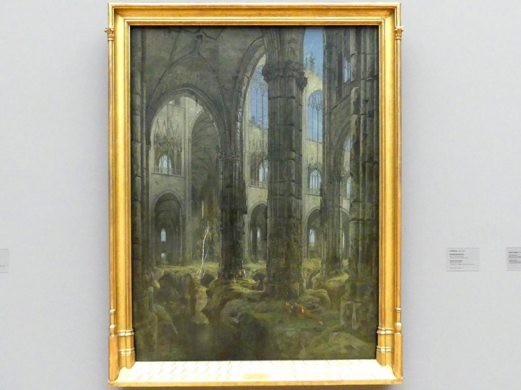 Carl Blechen: Gotische Kirchenruine, 1826