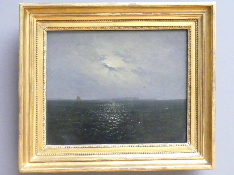 Carl Gustav Carus: Mondnacht bei Rügen, um 1819