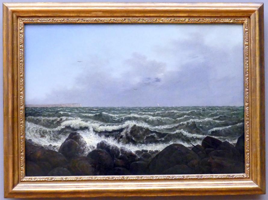 Carl Gustav Carus: Brandung bei Rügen, 1819