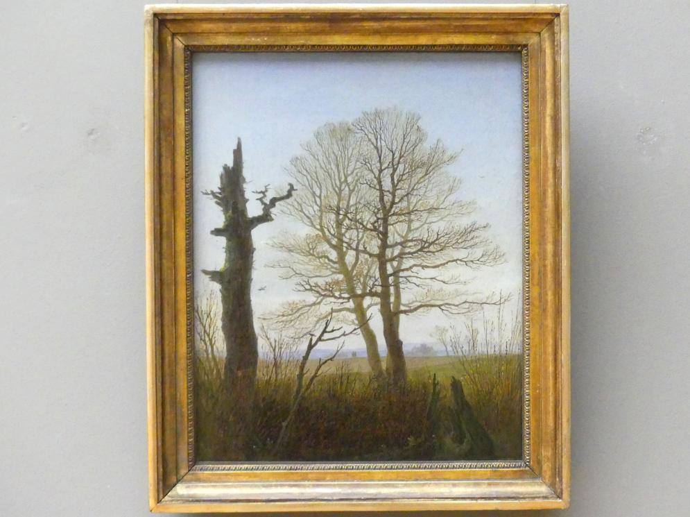 Carl Gustav Carus: Landschaft im Vorfrühling, um 1823