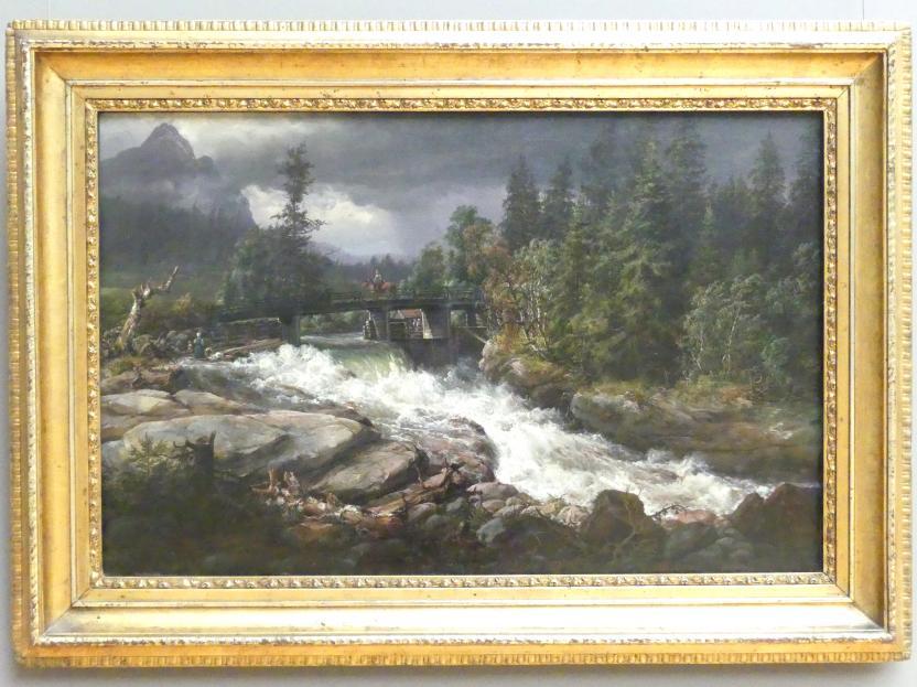 Johan Christian Clausen Dahl: Maridalen, 1852