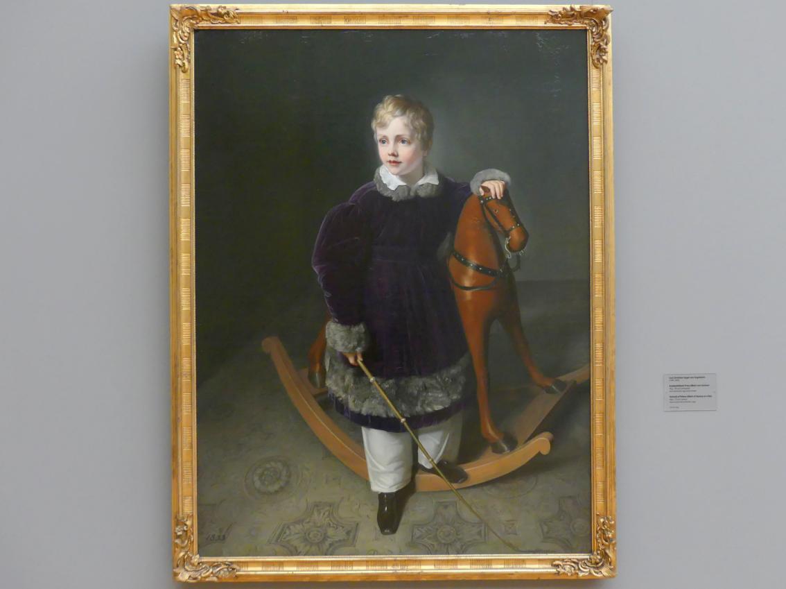 Carl Christian Vogel von Vogelstein: Knabenbildnis Prinz Albert von Sachsen, 1833