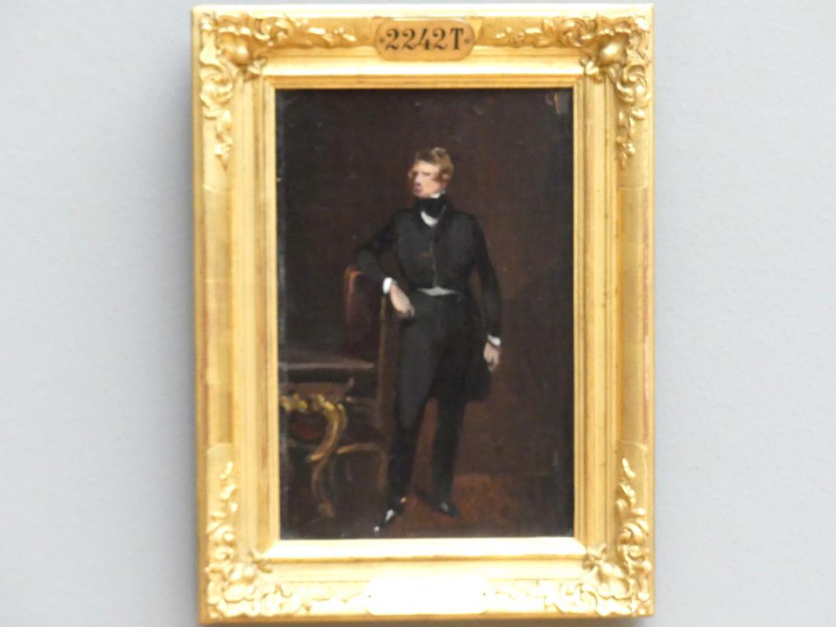 Ferdinand von Rayski: Studie zum Bildnis des Domherrn Haubold von Schroeter, 1843