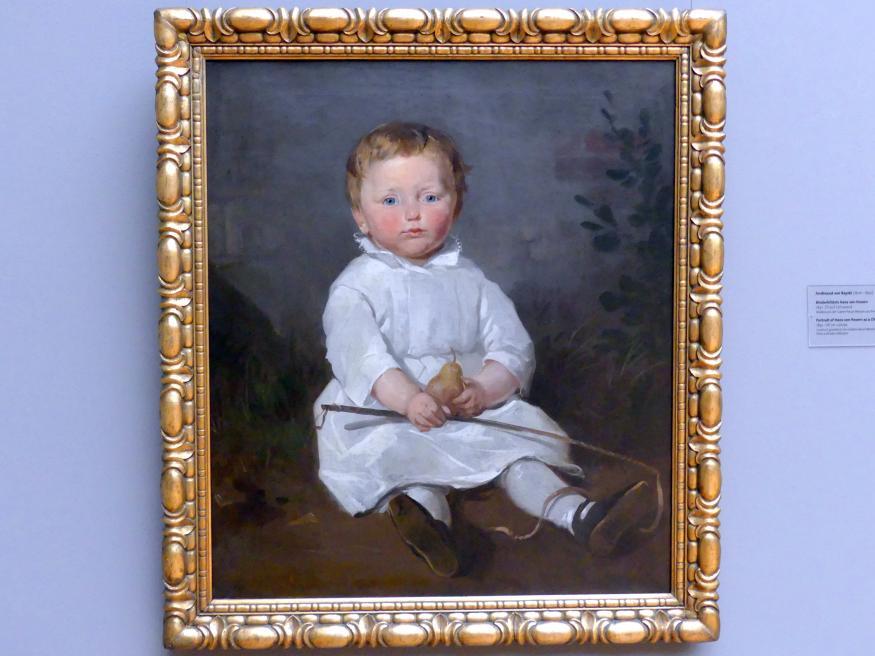 Ferdinand von Rayski: Kinderbildnis Hans von Posern, 1841