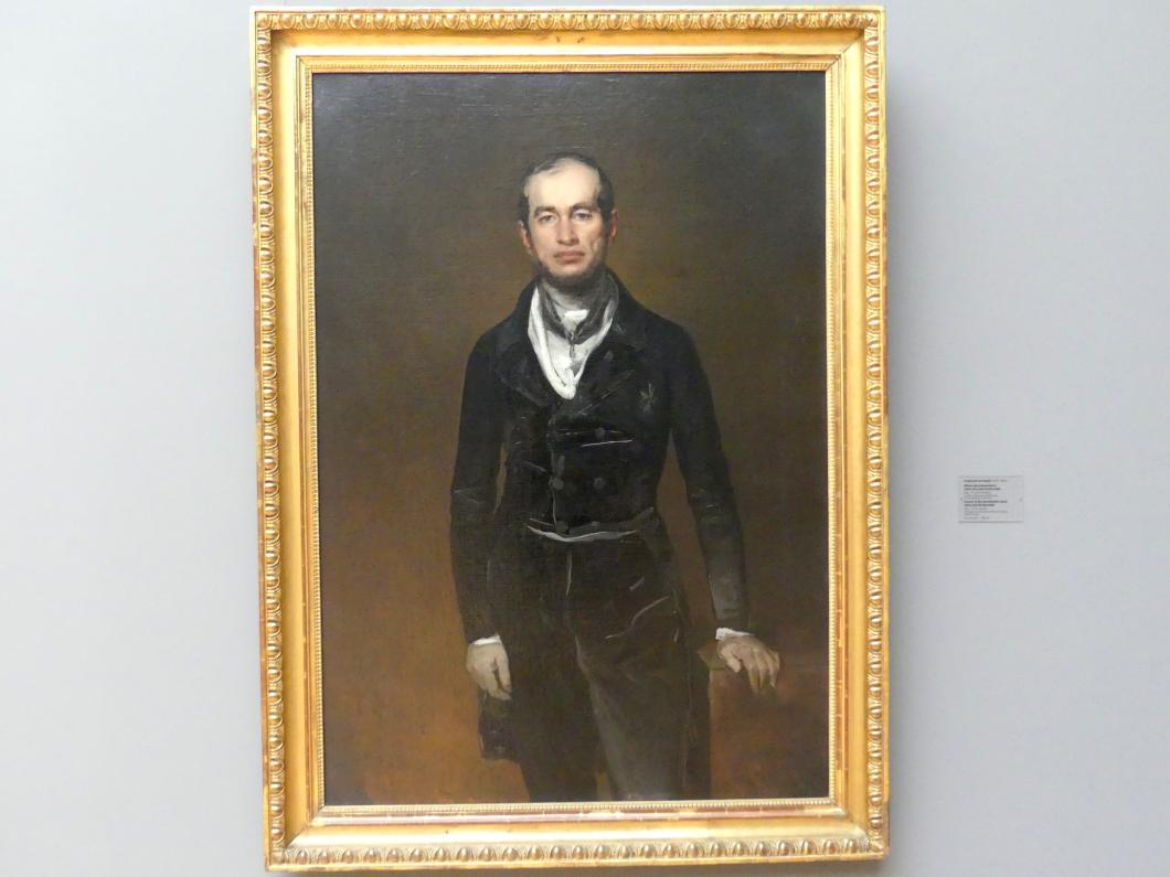 Ferdinand von Rayski: Bildnis des Kammerherrn Julius Graf Zech-Burkersroda, 1841