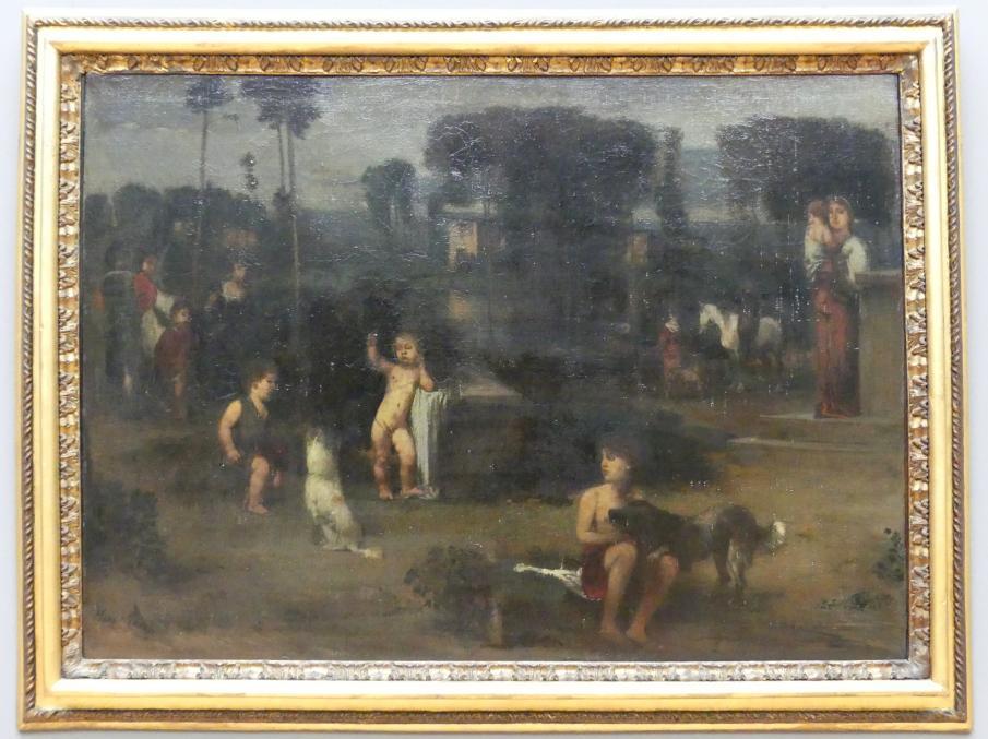 Hans von Marées: Römische Landschaft II, 1868