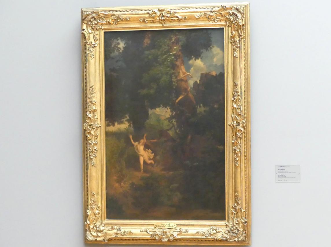 Arnold Böcklin: Pan und Syrinx, 1854
