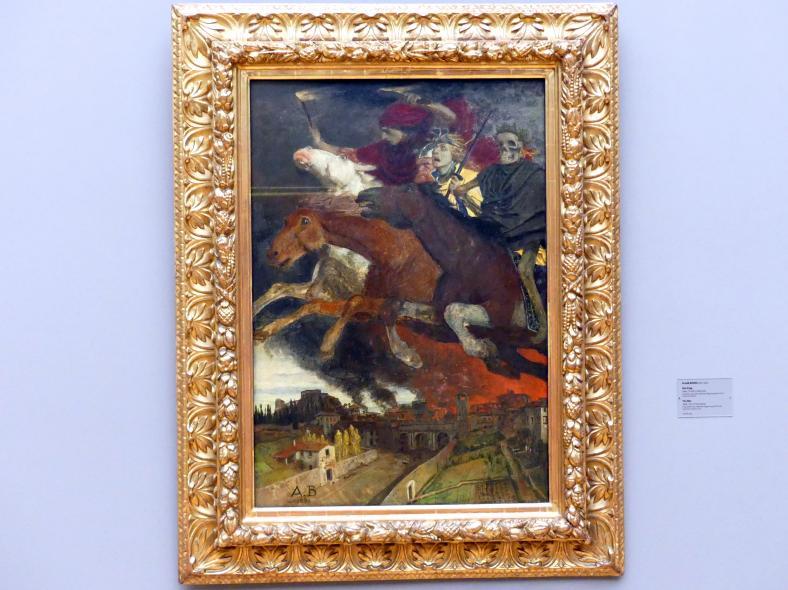 Arnold Böcklin: Der Krieg, 1896