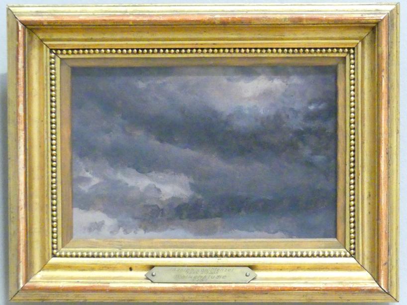 Adolph von Menzel: Wolkenstudie, 1851