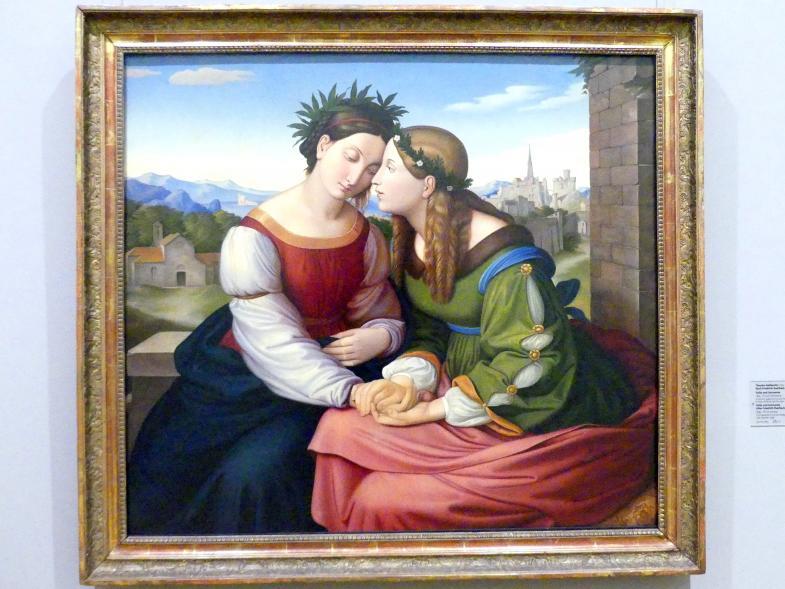 Theodor Rehbenitz: Italia und Germania, 1835
