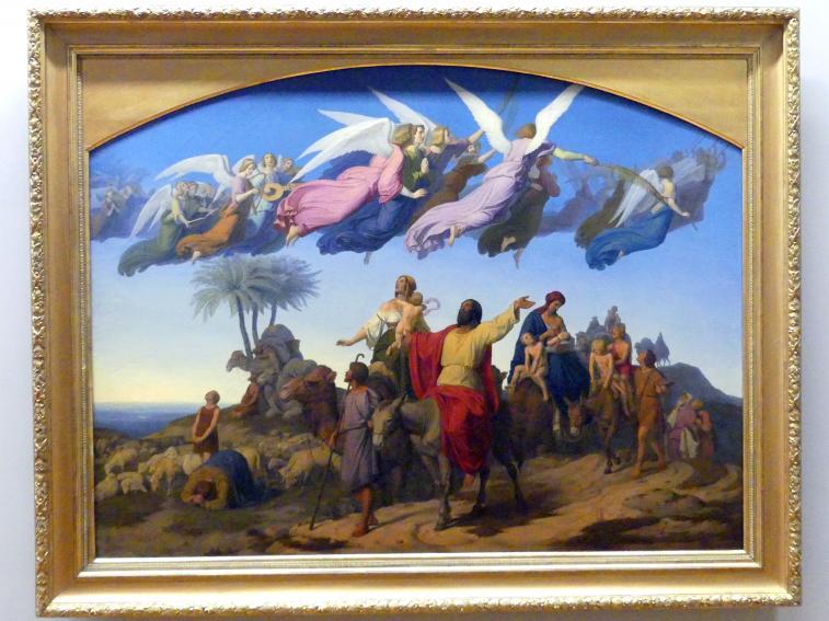 Carl Gottlieb Peschel: Jakobs Heimkehr nach dem gelobten Lande, 1845