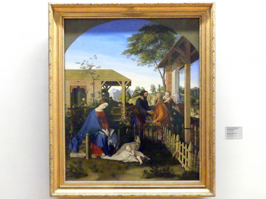 Julius Schnorr von Carolsfeld: Die Familie Johannes des Täufers bei der Familie Christi, 1817