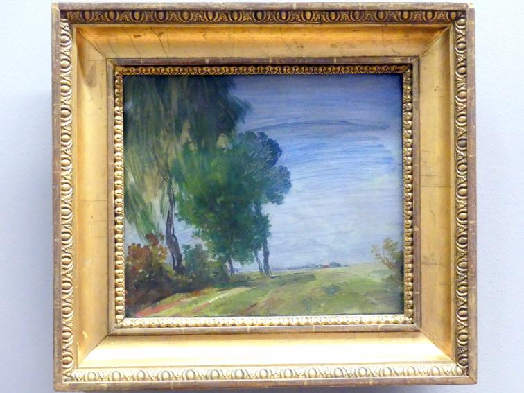 Wilhelm Busch: Landschaft, 1885