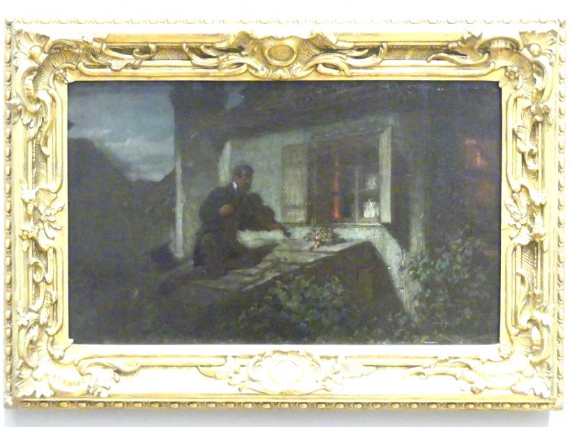 Carl Spitzweg: Das Ständchen, um 1850