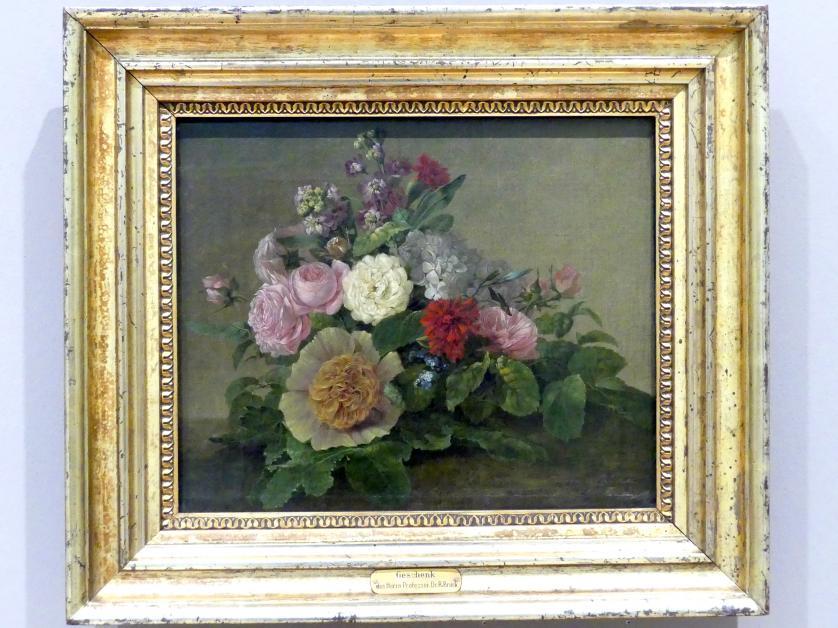 Georg Friedrich Kersting: Blumenstillleben, um 1830 - 1840