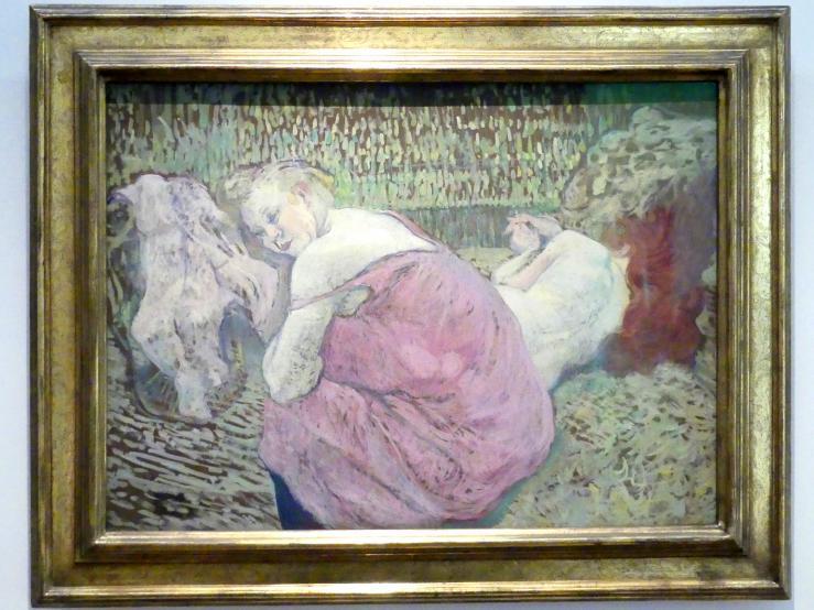 Henri de Toulouse-Lautrec: Les deux amies - Zwei Freundinnen, 1895