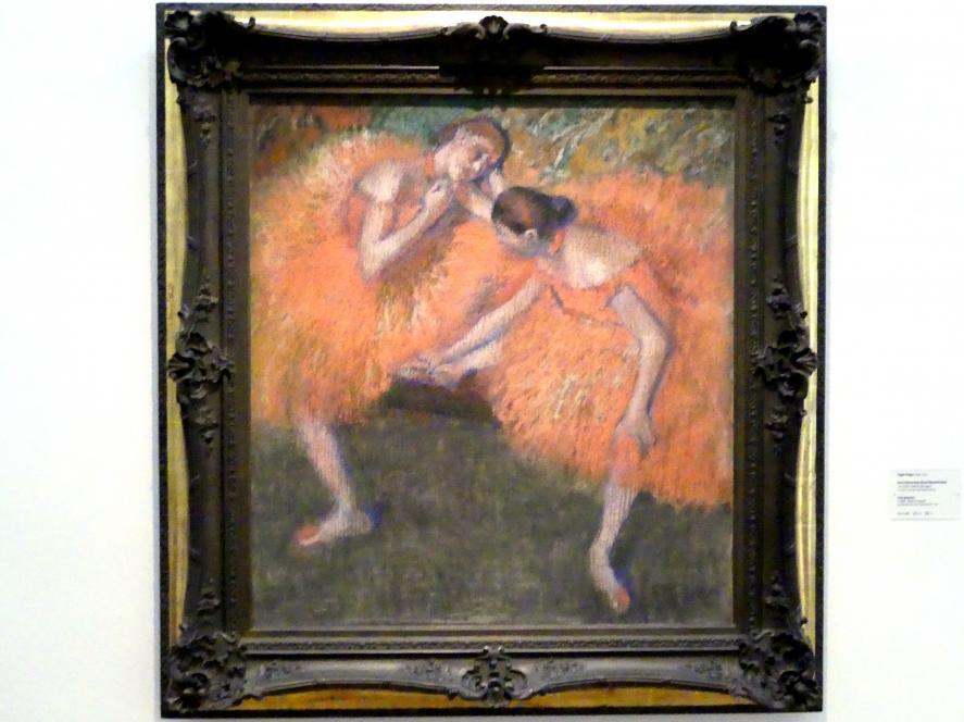 Edgar Degas: Deux Danseuses - Zwei Tänzerinnen, um 1898