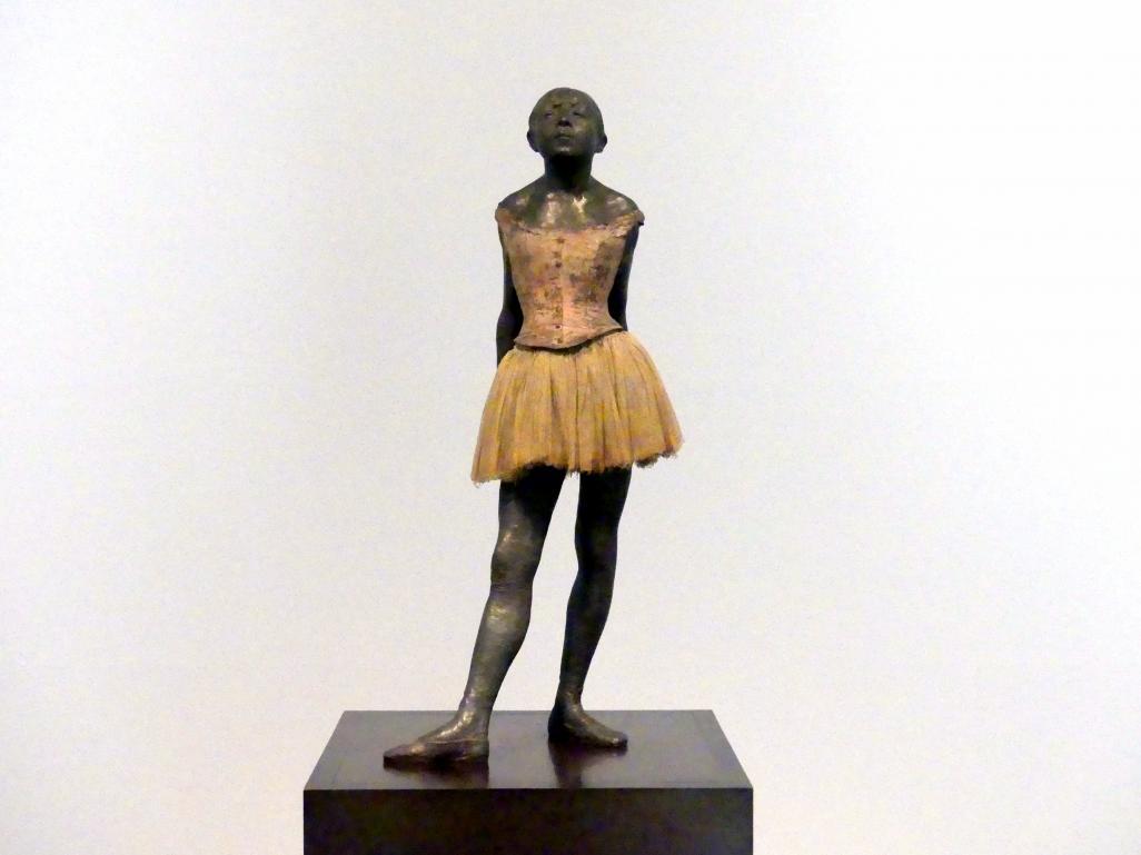 Edgar Degas: Vierzehnjährige Tänzerin, um 1880