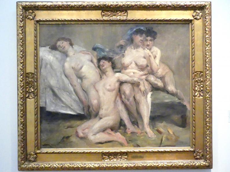 Lovis Corinth: Frauengruppe (Freundinnen, große Fassung), 1904