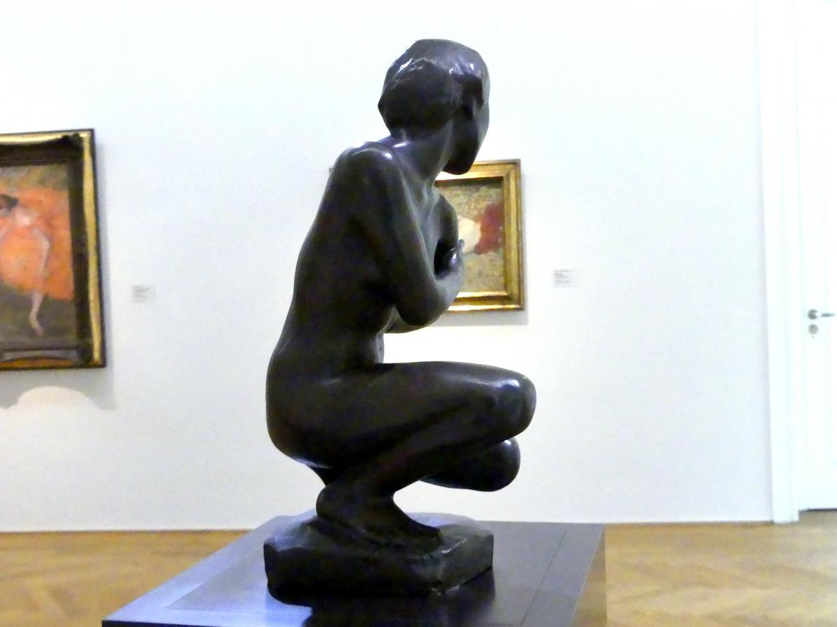 Georg Kolbe: Kauernde Japanerin, 1911, Bild 3/4