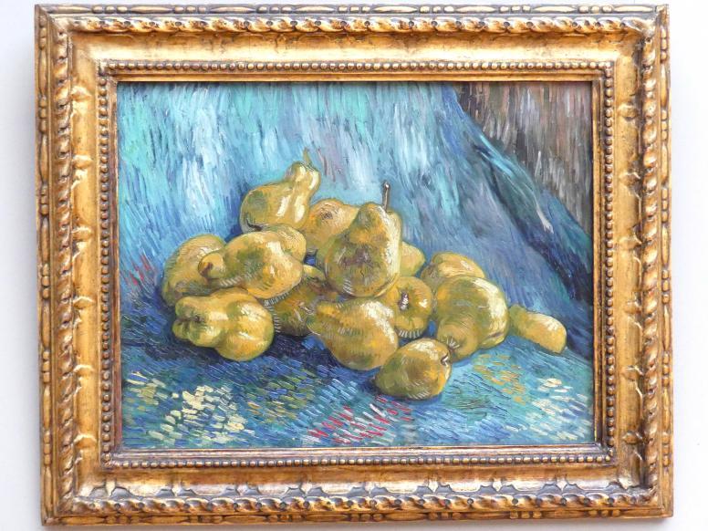 Vincent van Gogh: Quittenstillleben, 1887 - 1888