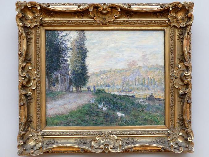 Claude Monet: Seineböschung bei Lavacourt, 1879