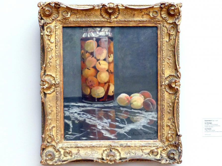 Claude Monet: Das Pfirsichglas, Um 1866