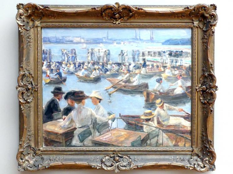 Max Liebermann: An der Alster in Hamburg, 1910