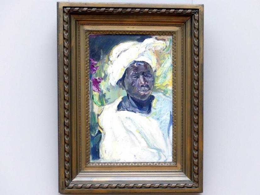 Max Slevogt: Negerjunge Musri, 1914