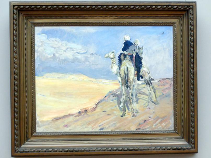 Max Slevogt: Sandsturm in der Wüste, 1914
