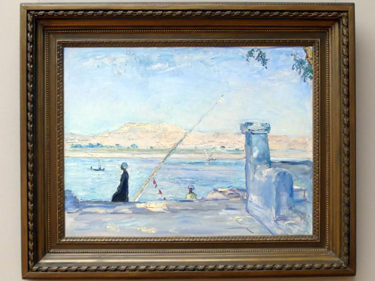Max Slevogt: Morgen bei Luxor, 1914
