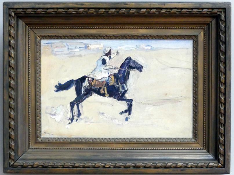 Max Slevogt: Araber zu Pferde, 1914