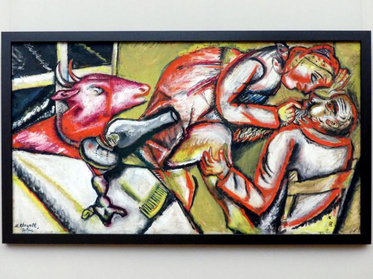 Marc Chagall: Paar mit Ziege, 1911