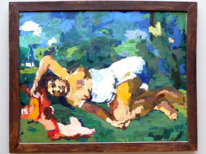 Oskar Kokoschka: Sommer I, 1922