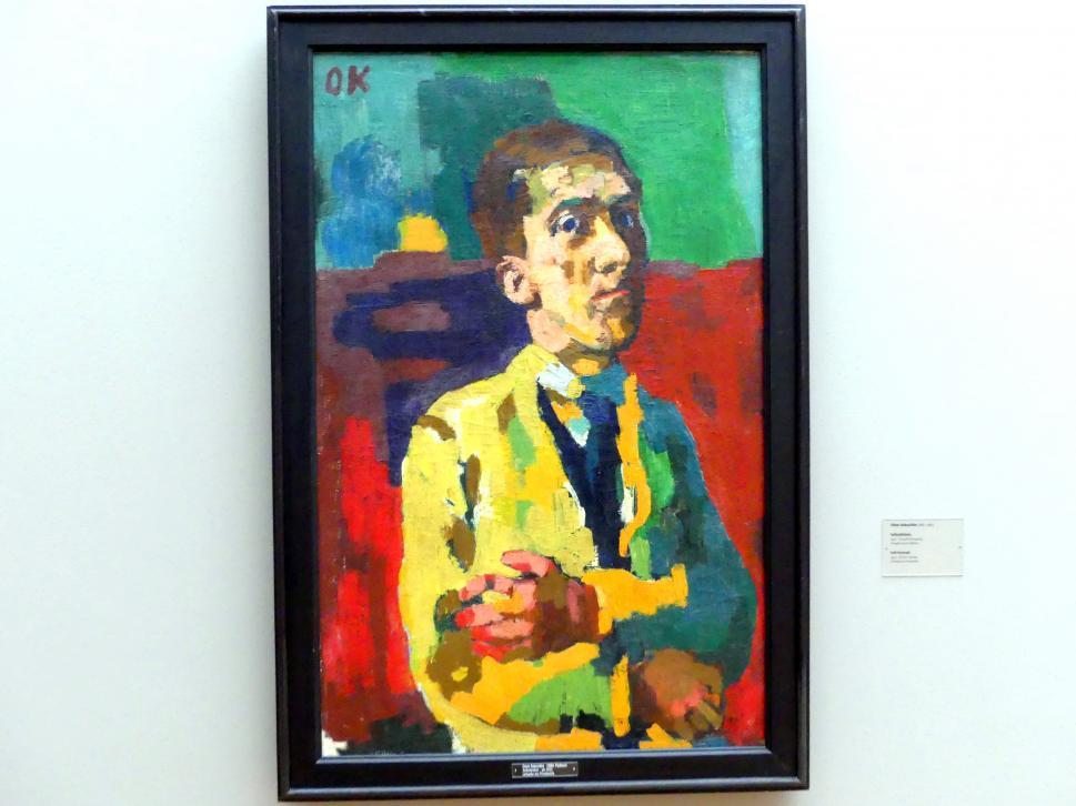 Oskar Kokoschka: Selbstbildnis, 1923
