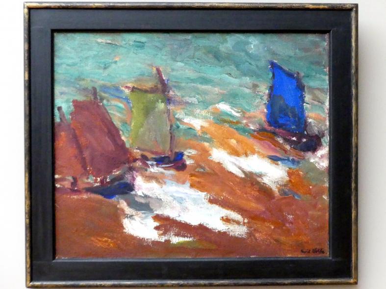 Emil Nolde: Segler im Gelben Meer, 1914