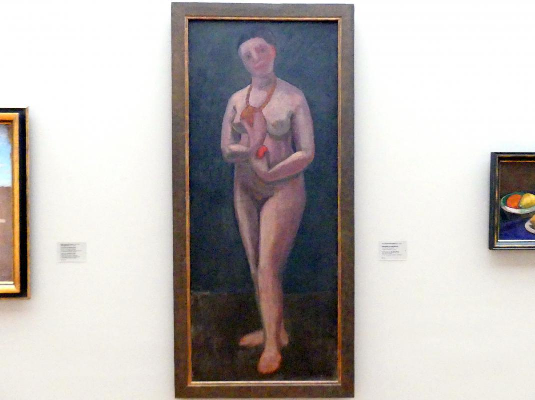 Paula Modersohn-Becker: Selbstbildnis als stehender Akt, 1906