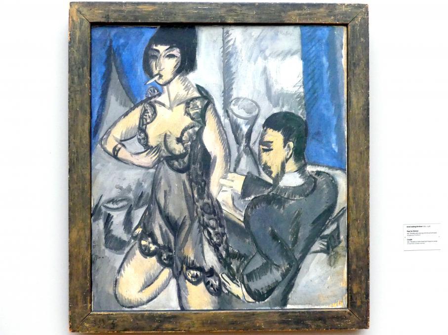 Ernst Ludwig Kirchner: Paar im Zimmer, 1912