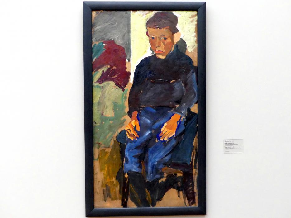 Carl Lohse: Junge (Proletarierkind), 1919