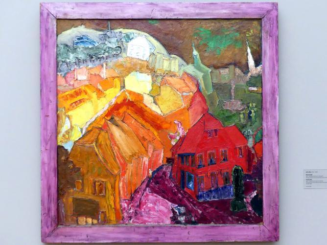 Carl Lohse: Kleine Stadt, 1920