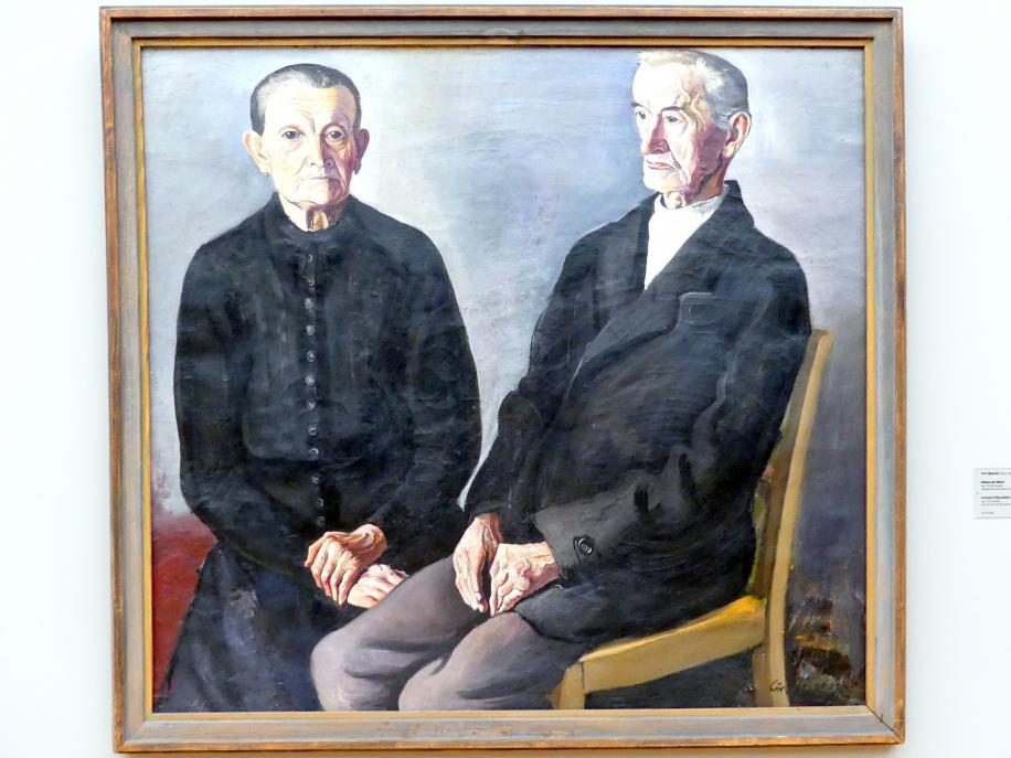 Curt Querner: Bildnis der Eltern, 1947