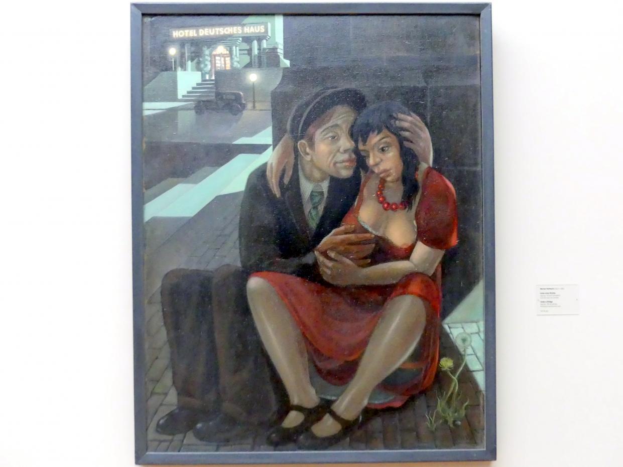 Werner Hofmann: Unter einer Brücke, 1931 - 1932