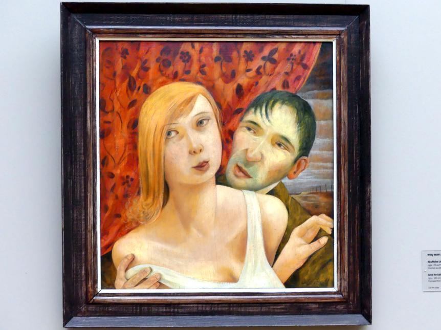 Willy Wolff: Käufliche Liebe, 1932